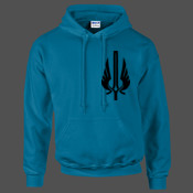League of Legends Demacia Crest - HeavyBlend™ adult hooded sweatshirt