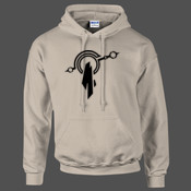 League of Legends Mount Targon Crest - HeavyBlend™ adult hooded sweatshirt