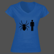 Spider Man - Softstyle™ women's v-neck t-shirt